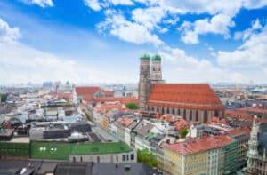 Die GDL in München sitzt in der Nähe des Königsplatzes.