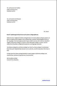 Muster: Empfehlungsschreiben für die Bewerbungsmappe