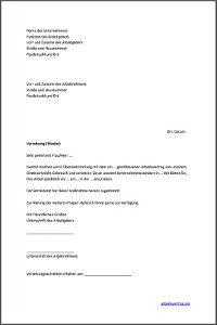 Muster: Versetzung vom Arbeitnehmer auf Geheiß des Vorgesetzten