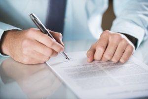Mit der Unterschrift wird der Aufhebungsvertrag rechtsgültig.