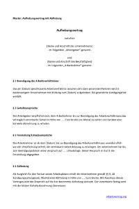 Aufhebungsvertrag Mit Abfindung Arbeitsrecht 2019