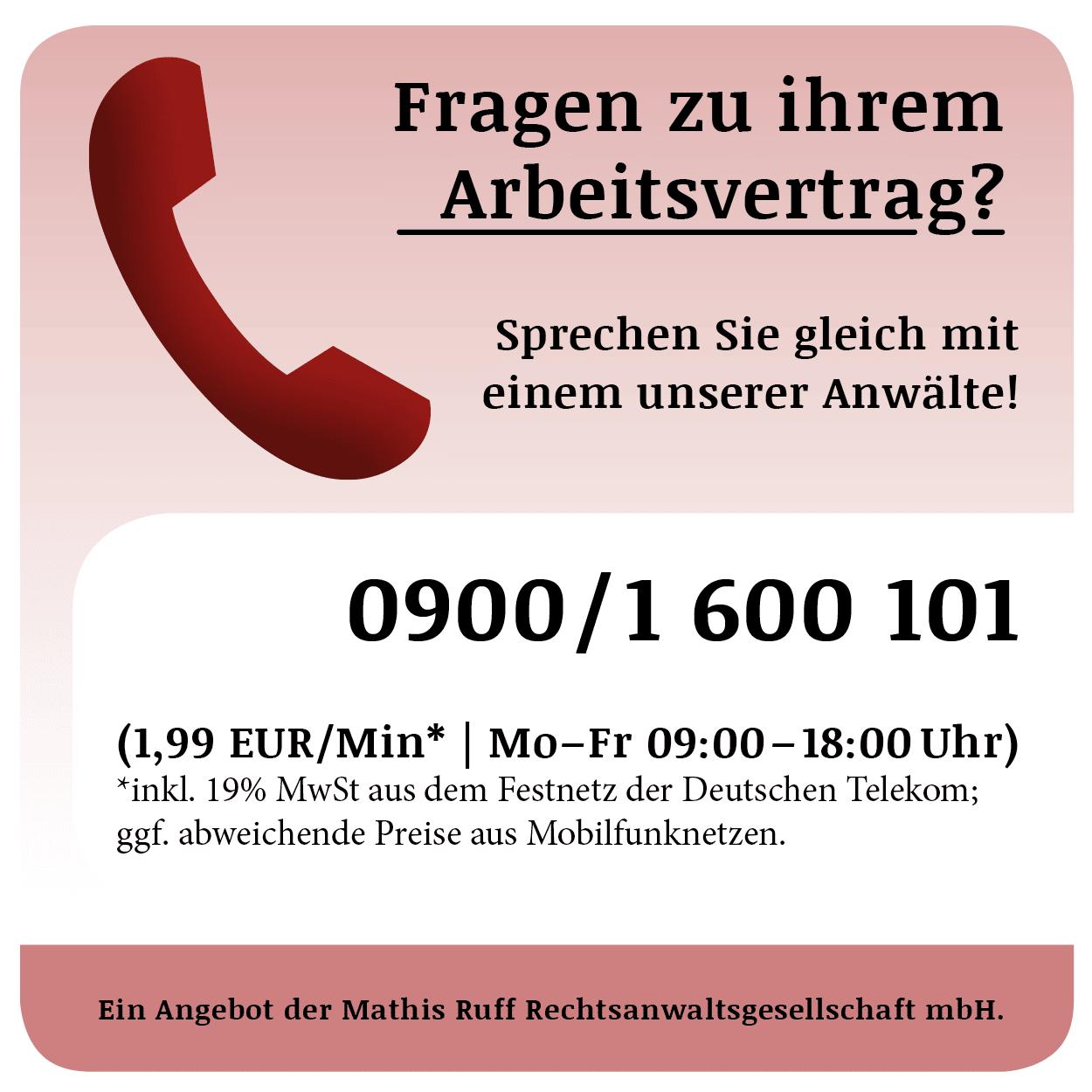 Telefonbanner