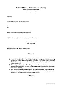 Sabbatical Und Sabbatjahr Arbeitsvertrag Arbeitsrecht 2019