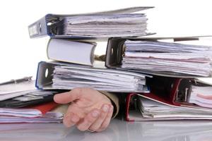 Ein Formular zum Aufhebungsvertrag hilft auch dann, wenn eine Beschäftigung nicht mehr zu bewältigen ist.
