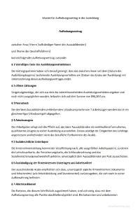 muster aufhebungsvertrag in der ausbildung - Aufhebungsvertrag Auf Wunsch Des Arbeitnehmers Muster