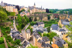 Der höchste Mindestlohn in Europa wurde 2020 in Luxemburg gezahlt.