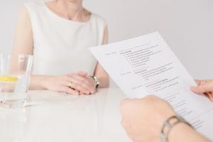 Bewerbungsgespräch: Eine gute Vorbereitung auf ein Vorstellungsgespräch ist die halbe Miete.